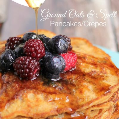 Ground Oats & Spelt Pancakes/Crepes