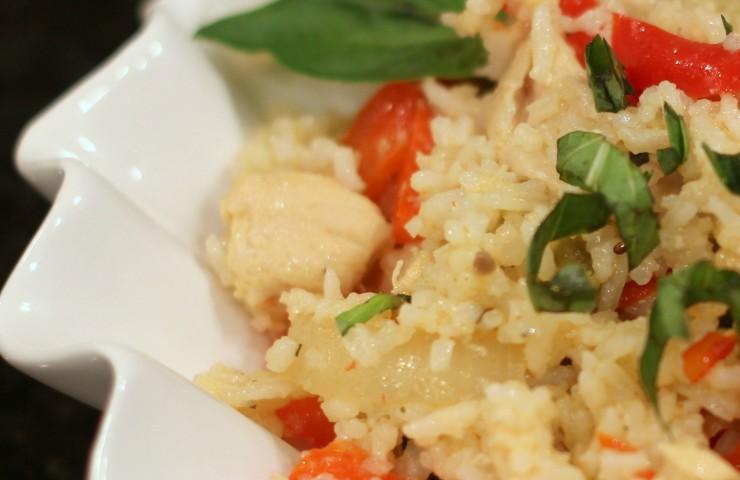 Thai Basil Chicken & Rice