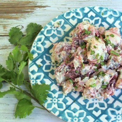 Beets, Carrots & Cilantro Potato Salad