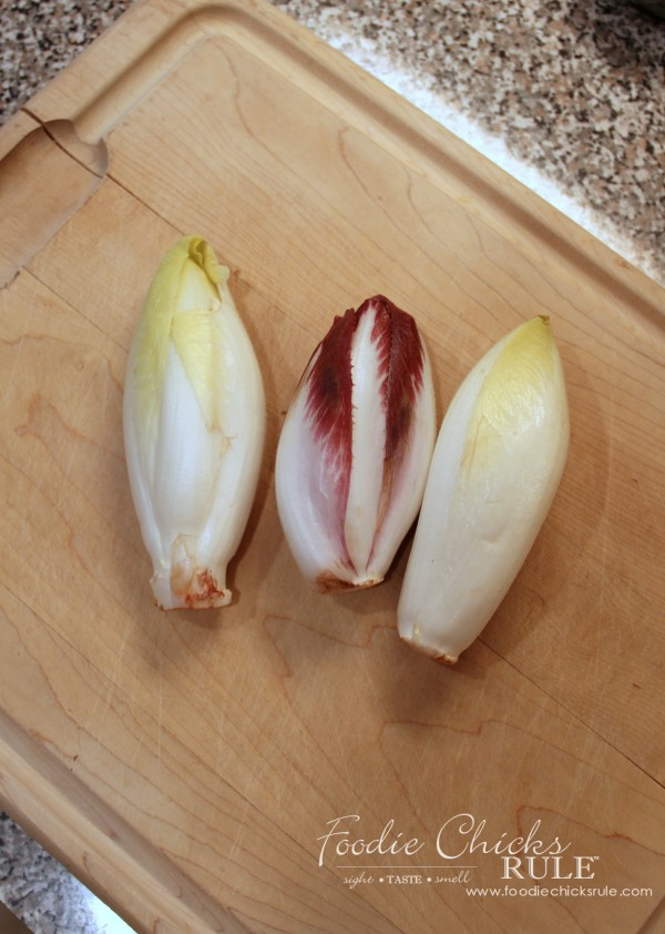 Garlic Roasted Endives - So healthy and good! - #recipe #veggies #healthy foodiechicksrule.com