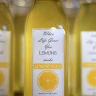 Homemade Limoncello (easier than you think!)