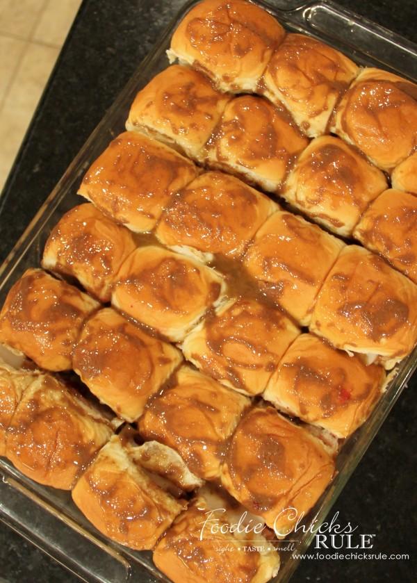 Turkey, Swiss Rolls with Lingonberry & Balsamic Glaze -   #balsamic #turkeyswissrecipe #lingonberry foodiechicksrule.com