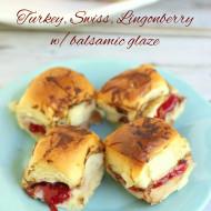 Turkey, Swiss & Lingonberry w/Balsamic Glaze