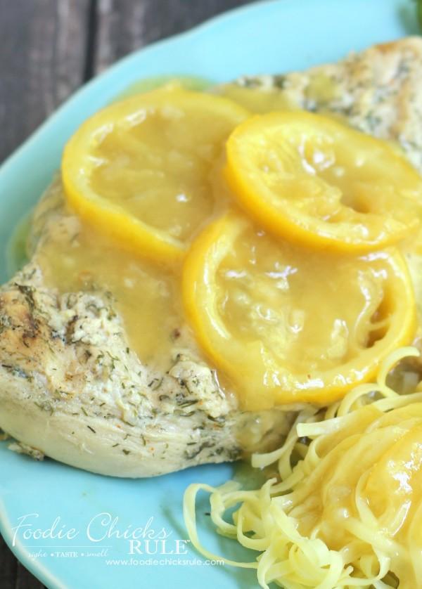 Best Ever Lemon Garlic Marinade - and Lemon Garlic Sauce - #marinade foodiechicksrule.com