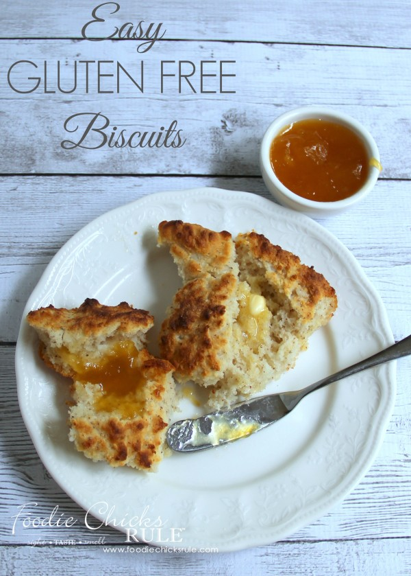 Easy GLUTEN FREE Biscuits - So tender and delicious - MUST TRY THEM - #glutenfree foodiechicksrule.com