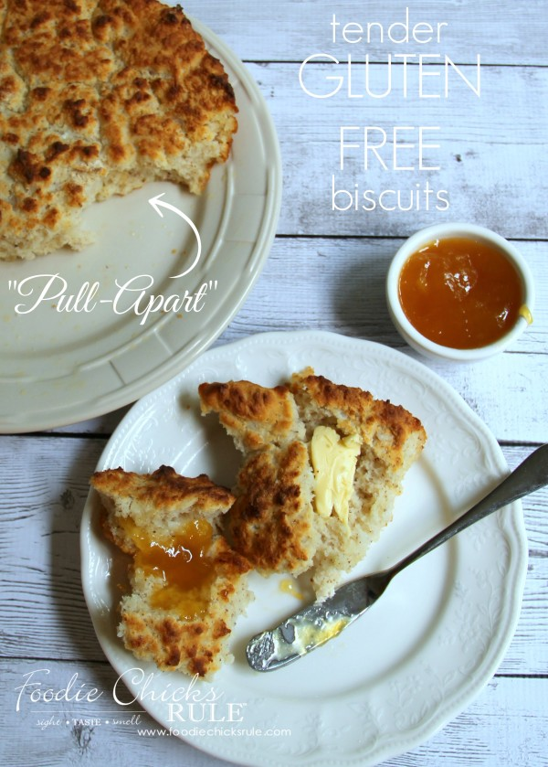 Easy GLUTEN FREE Biscuits - So tender and delicious - MUST TRY - #glutenfree foodiechicksrule.com
