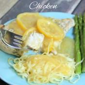 Garlic Lemon Sauce w/Chicken