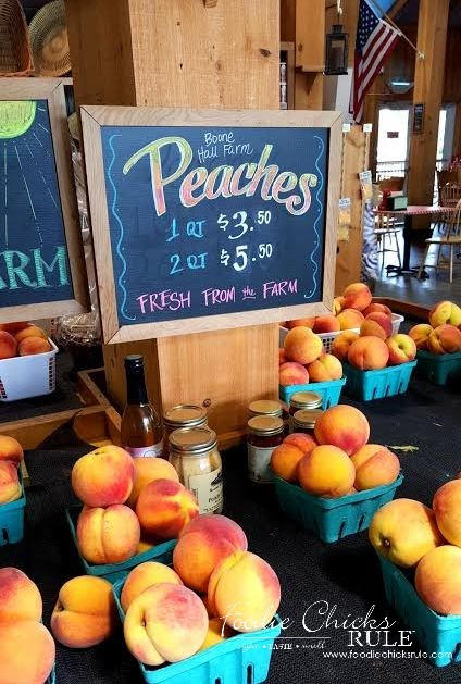 Gluten Free Peach Cobbler - Fresh South Carolina Peaches - #peach #cobbler #glutenfree foodiechicksrule