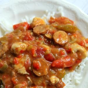 Easy Spicy Jambalaya