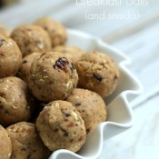 Gluten Free Breakfast Balls (or snacks too!)