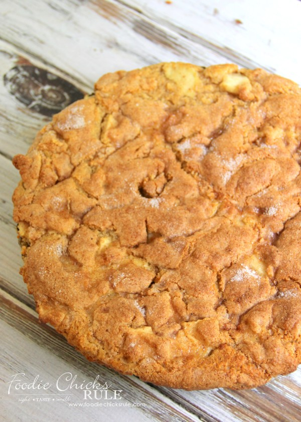 Apple Spice Cake (Gluten Free) - Baked - foodiechicksrule #applespice #recipe