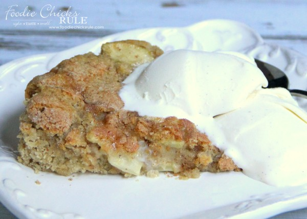 Apple Spice Cake (Gluten Free) - Perfect for FALL and Winter - foodiechicksrule #applespice #recipe