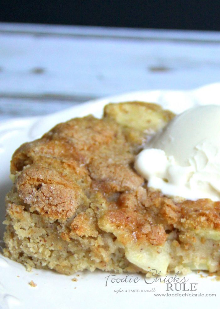 Apple Spice Cake With Cream Cheese Filling