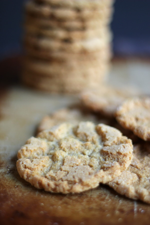 Cracked Brown Sugar Cookies - BEST Sugar Cookie RECIPE - #foodiechicksrule #brownsugarcookies
