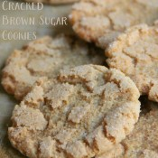 Cracked Brown Sugar Cookies (aka THE BEST SUGAR COOKIE EVER!)