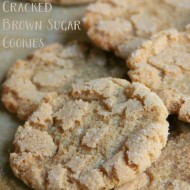 Cracked Brown Sugar Cookies (aka THE BEST SUGAR COOKIE EVER!)