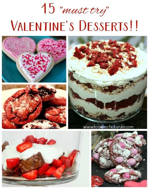 15 Valentine's Day Dessert Ideas - foodiechicksrule