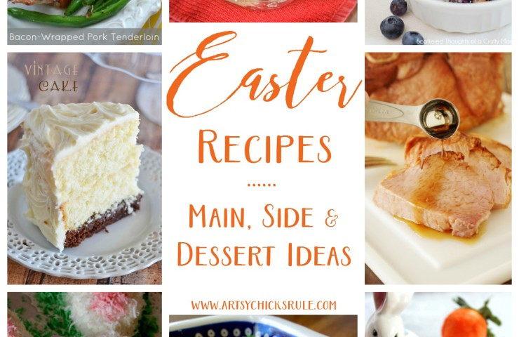 Easter Recipes (a round up of delicious and creative recipes!)