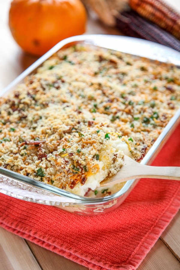 Mashed-Potato-Casserole-Baking Beauty