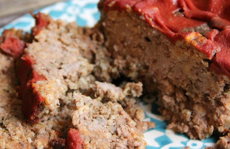 Easy Meatloaf (dairy, gluten and sugar free)