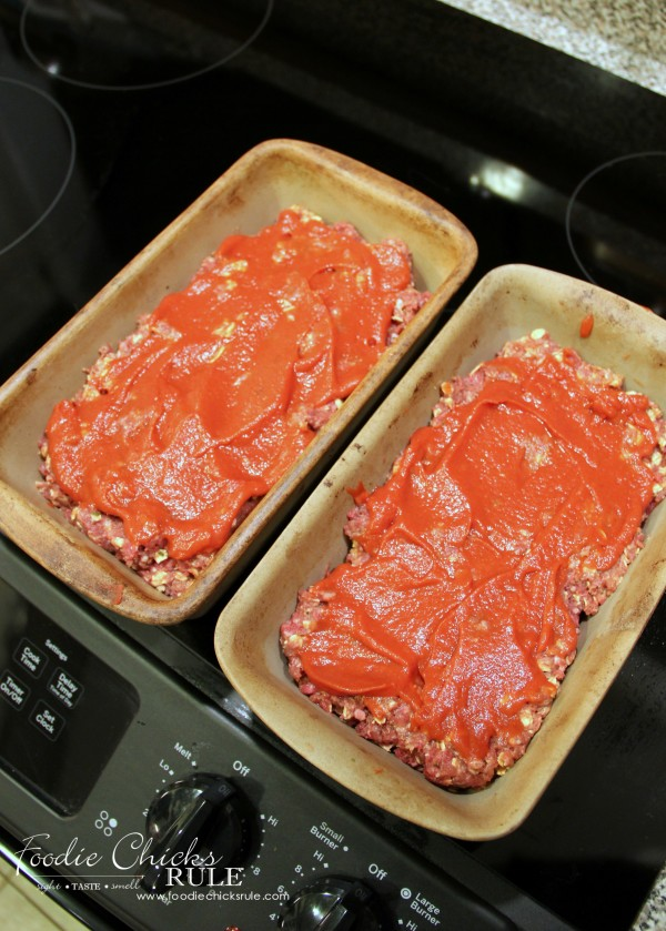 Meatloaf - ready to bake - foodiechicksrule