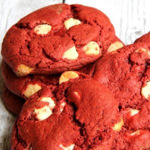 Easiest Red Velvet Cookie Recipe