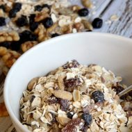 Best Muesli Recipe (and easiest too!)