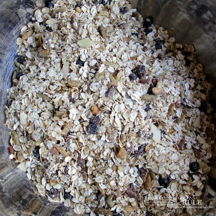 FAVORITE!! Delicious and Best Muesli Recipe!!! EVER!! foodichicksrule.com