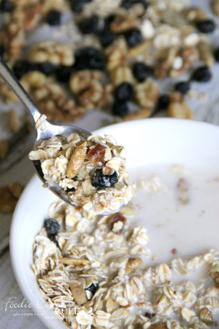 Delicious!! and Best Muesli Recipe!!! EVER!! foodichicksrule.com