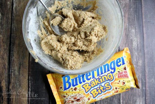 Butterfinger Biscotti Bites -  (Butterfinger Cookies, Butterfinger Desserts) Butterfinger Baking Bits artsychicksrule.com