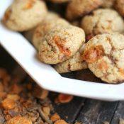 Butterfinger Biscotti Bites