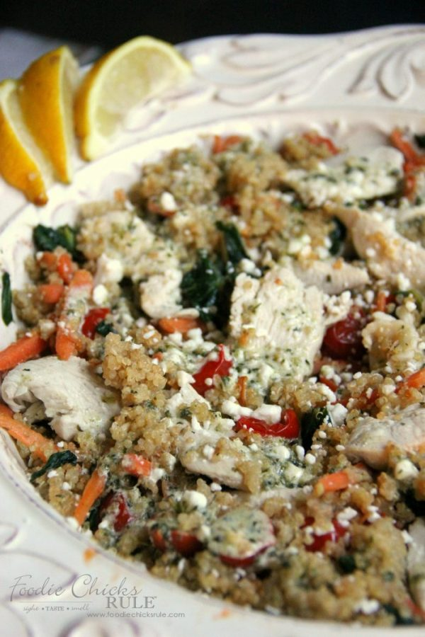 Quinoa Power Bowl - Healthy Recipe!! - foodiechicksrule.com