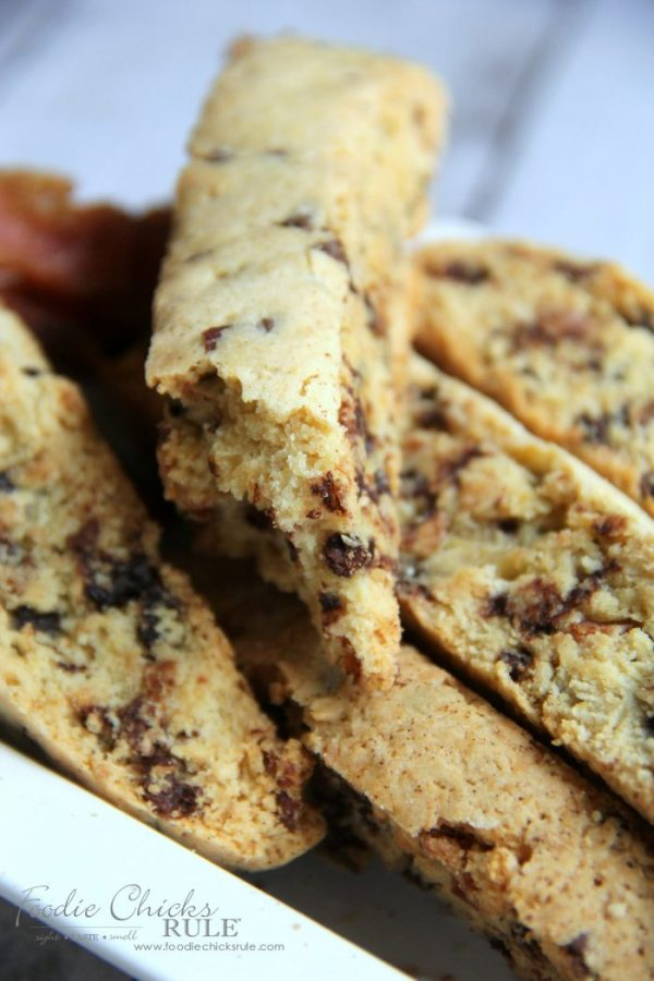 Yummy Chocolate Maple Bacon Biscotti - foodiechicksrule.com