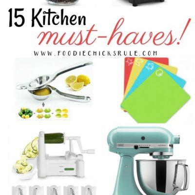 15 Kitchen Must Haves!!