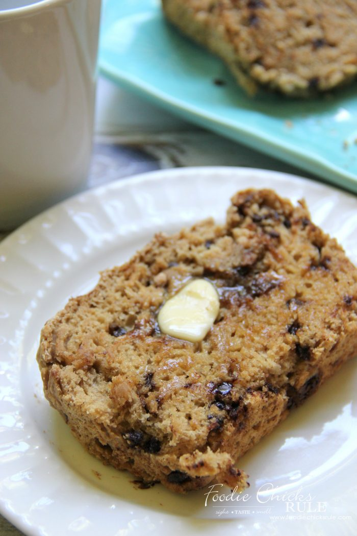 So rich and delicious!! Chocolate Chip Guinness Beer Bread foodiechicksrule.com