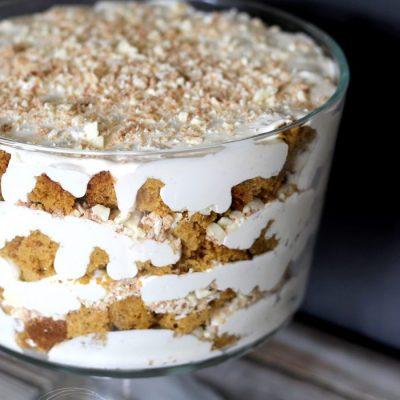 Pumpkin Bread Trifle Surprise
