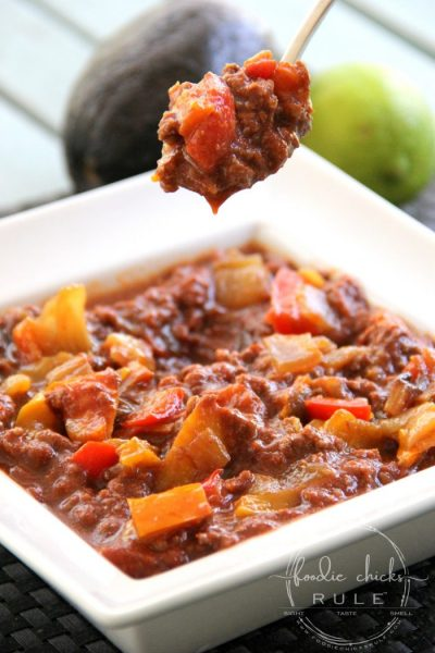 Whole30 Beanless Chili (simple & delicious!)