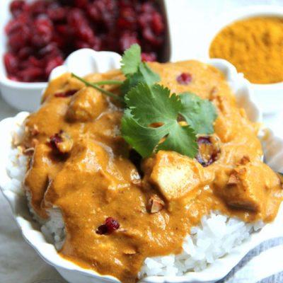 Instant Pot Chicken Korma (quick & easy!)