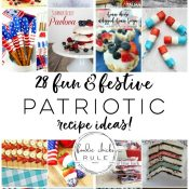 Creative Patriotic Food Ideas (red, white and blue!)