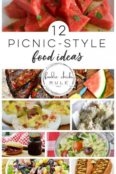 Picnic Food Ideas (and inspiration!)