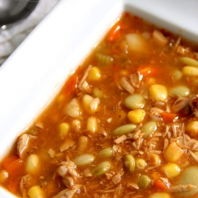 Simple Chicken Brunswick Stew