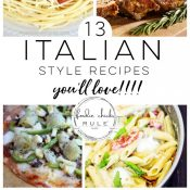 Italian Style Recipes You'll Love