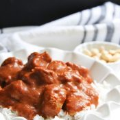 Easy Butter Chicken (less than 30 minutes...the best!)