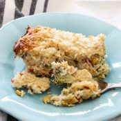 Tuna Rice Casserole (great mix of flavors!)