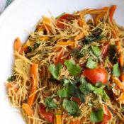 Veggie Noodle Stir Fry (plant based)